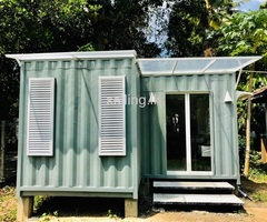 Container cabins for sale