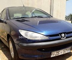 Peugeot 206 car for sale