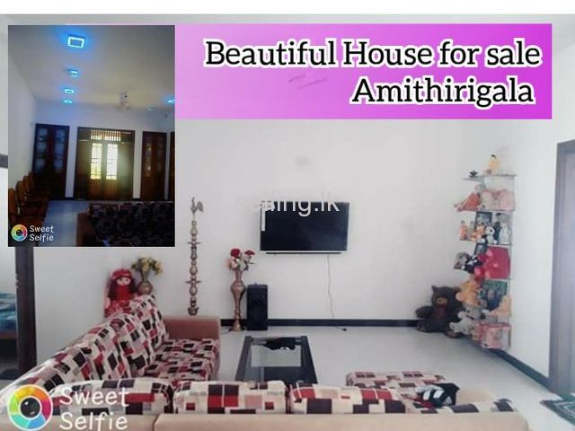 Beautiful House for sale Amithirigala