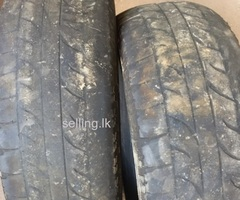 Sale of used Japanese tyres 245/70R16 107H