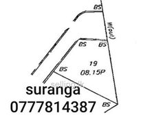 Land for sale in Homagama town.