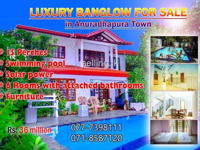 Luxury House for sale Anuradapura