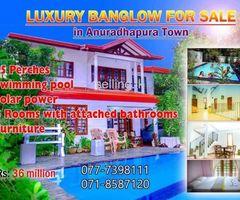 Luxury House for sale Anuradapura