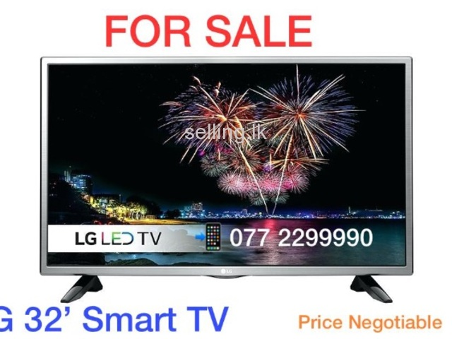 LG 32' Smart Tv for sale