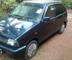Suzuki Maruti 800 2011 for sale