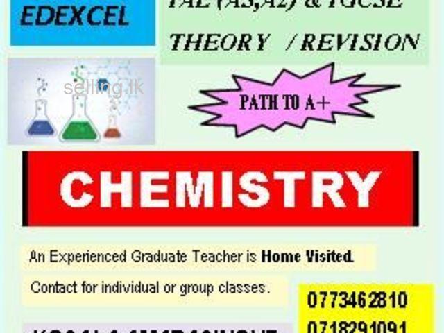 EDEXCEL IGCSE IAL CHEMISTRY (AS & A2) - Theory & Revision- Kandy