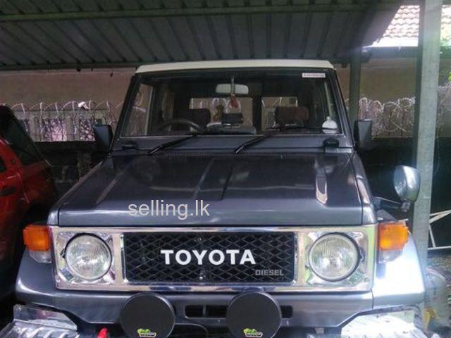 Toyota land cruiser bj70