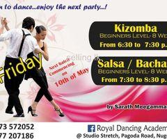 Social Dancing classes - Latin American & Ballroom + Salsa , Bacahata, kizomba