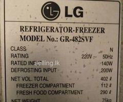 LG.  2 Door Fridge