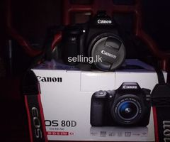 Canon 80D DSLR Camera