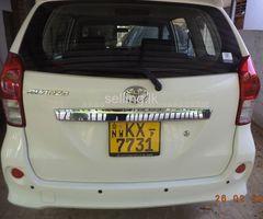 Toyota Avanza G grade 7seater