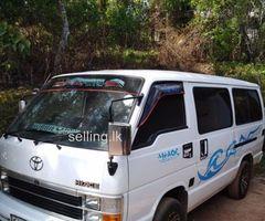 Toyota Lh61 shell Van