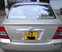 Toyota Corolla 121 G Limited 2002
