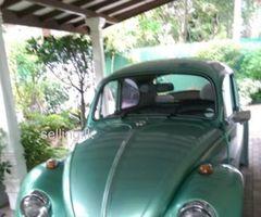 Volkswagen Beetle 1076 Classic car