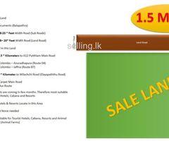 01 Acre Land Sale in Ulukkulama