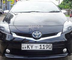 Toyota Prius ZVW30 G 2012