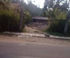 Land for sale in Randeniya hiriwadunna