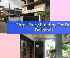 Three Story Building for sale Delkanda