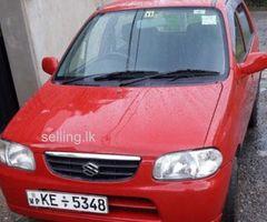 japan Alto Auto car for sale