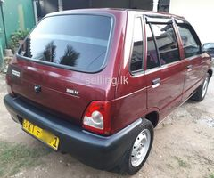 Maruti 2012 Low Mileage