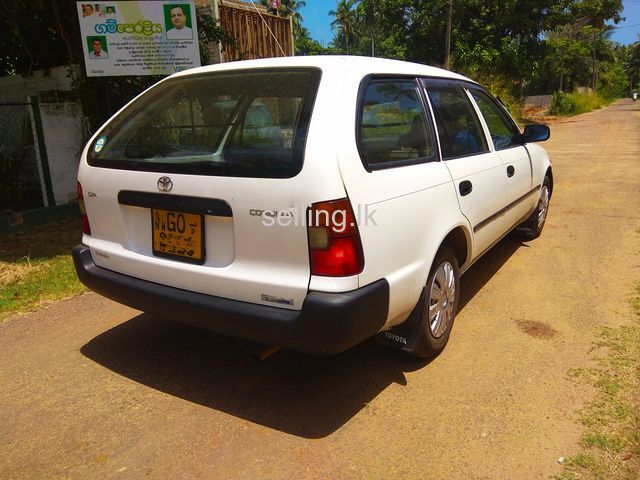 Toyota corolla wagon 1999 for sale