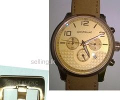 mont blanc watch for sale