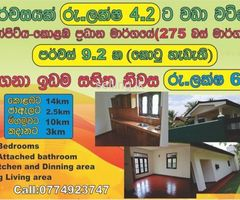 Valuable House for sale in  Jaela Bopitiya