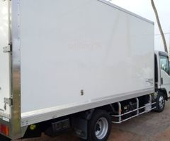 Freezer lorry for sale with hire