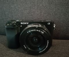 Sony a6000 mirrorless camera + Sony 16-50mm F3.5-5.6 OSS (Rs 75,000)