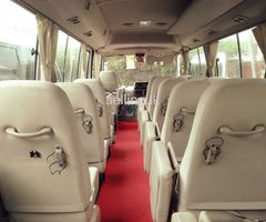 BUS For hire  JITHULA TOURS