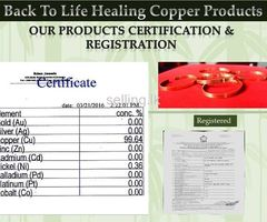 Copper Bracelets - Reduces Arthritic & Rheumatic Pain Naturally Within Days