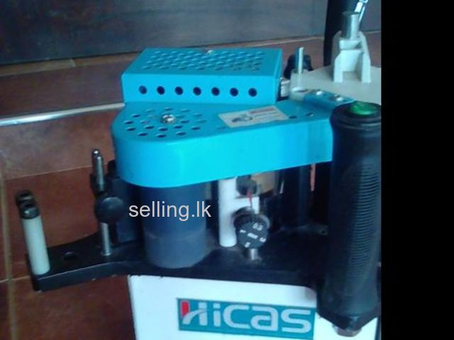Potable edge banding machine