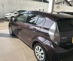 Toyota Aqua Hybrid 2014 S Grade