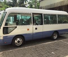 Toyota Coaster 2009 bus