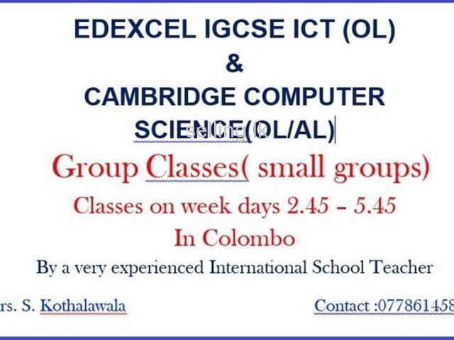ICT & Computer Science Classes