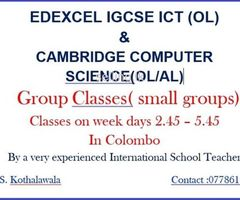 ICT & Computer Science Classes