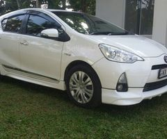 For sale  toyota  aqua s grade 2012