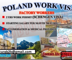 jobs in poland factory workers
