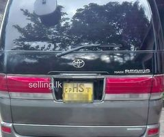 Toyota hiace regius sale