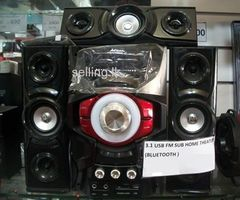 Ailiang speaker 3.1 home system speaker BLUETOOTH,MIC,FM,USB,MEMORY subwoofer