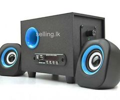 2800U-BA MINI speakers 2.1 SPEED (bluetooth,USB,FM,MEMORY CARD)