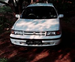 Toyota Corolla Tercel EL 43 1991