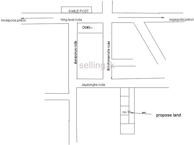 Land for sale in Kirulapone