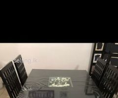 Square Table Set for Sale