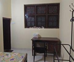 A room for rent at kohuwala