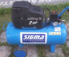 SIGMA italian branded air compressor 50L