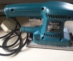 Makita bo 3700 sander machine