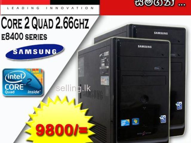 CORE 2 QUAD 2.66Ghz COMPUTER