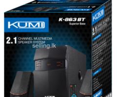 KUMI 2.1 BLUETOOTH SUBWOOFER