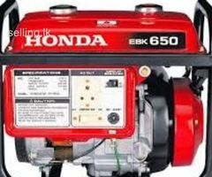 All kind of Generators and water pump repair